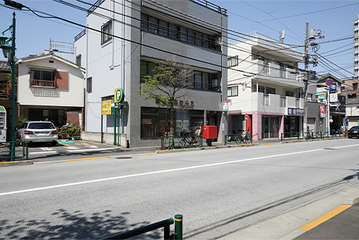 JR「西日暮里駅」からの道順